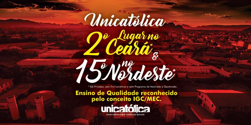 UNICATÓLICA é destaque no Indice Geral de Cursos (IGC)